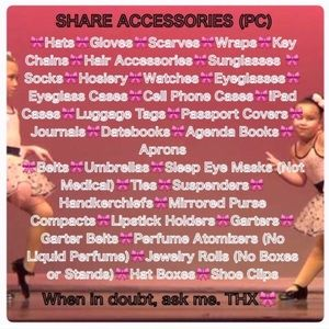 SHARE GROUP Accessories - 🎀 Q&A: JOIN TODAY! SASS&CLASS SHARE GROUP🎀